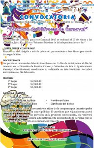 CONVOCATORIA DISFRACES